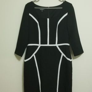 Nine West Black Midi Dress